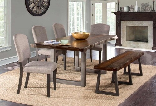 Emerson Dining Set - Gray Sheesham