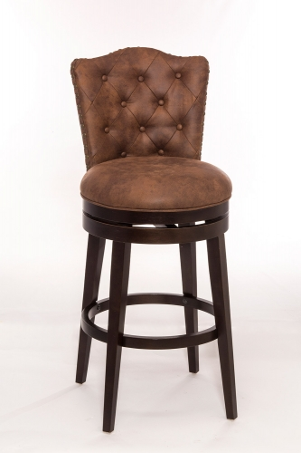Edenwood Swivel Bar Stool - Chocolate