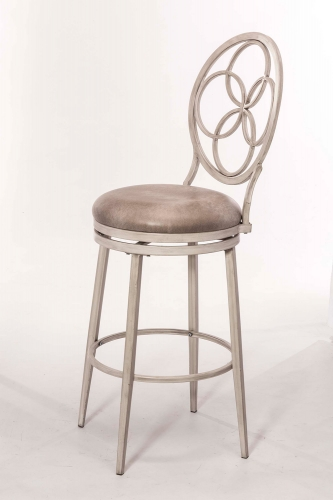 Donnelly Swivel Counter Stool - Weathered Gray