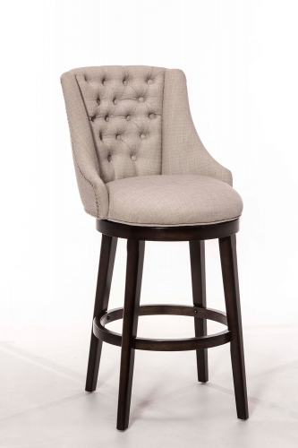 Halbrooke Swivel Bar Stool - Chocolate