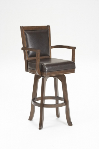 Ambassador Counter Stool - Rich Cherry - Brown