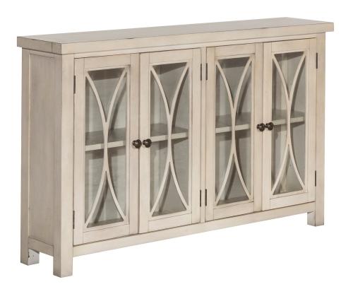 Bayside 4-Door Cabinet - Antique White