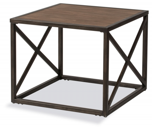Angora End Table - Brown