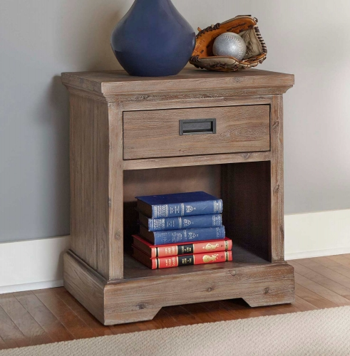 Oxford Nightstand - Cocoa