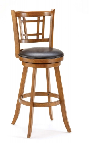 Fairfox Swivel Bar Stool - Oak