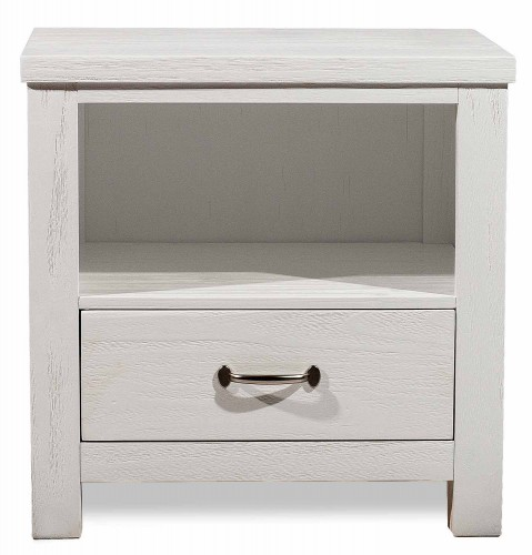 Highlands Nightstand - White Finish