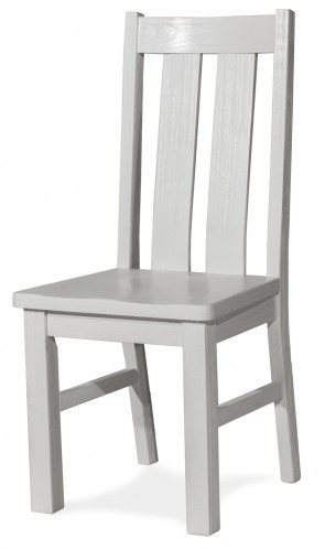 Highlands Desk Chair - White Finish